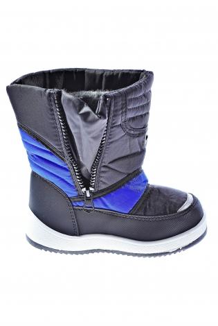 Черно-синие дутики