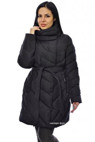 Зимняя куртка черная