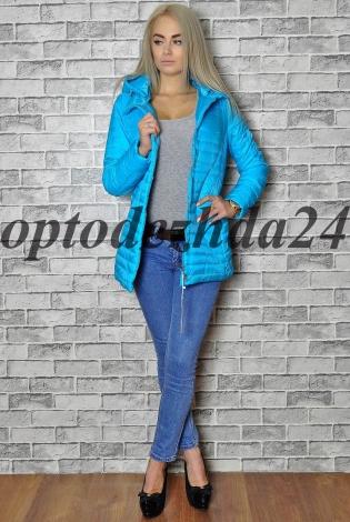 куртка на синтепон Синий