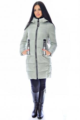 Зимняя куртка оливковая