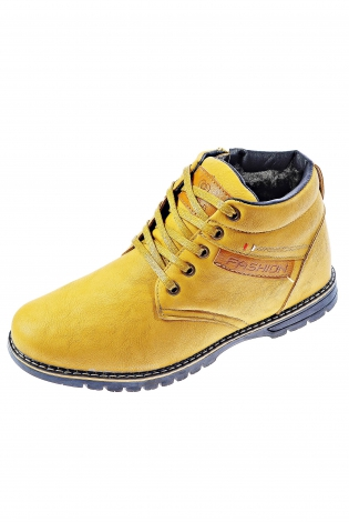 Желтые ботинки