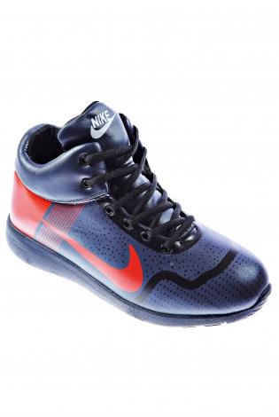 Красно-синие кроссовки
