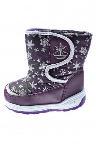 Темно-фиолетовые дутики