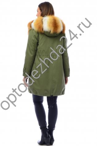 Парки с мехом лисы